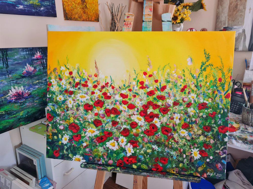obraz, maľba, farby
